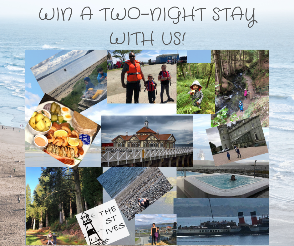 It's Competition Time! Win a two-night stay at Dunoon's best B&B!
